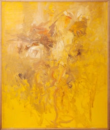 Large Yellow Abstract by John Young