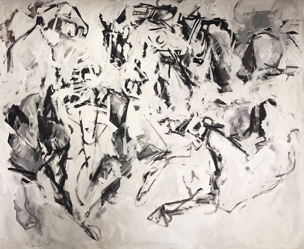 Horse Stampede I by John Young(Hawaiian Painting/Drawing)
