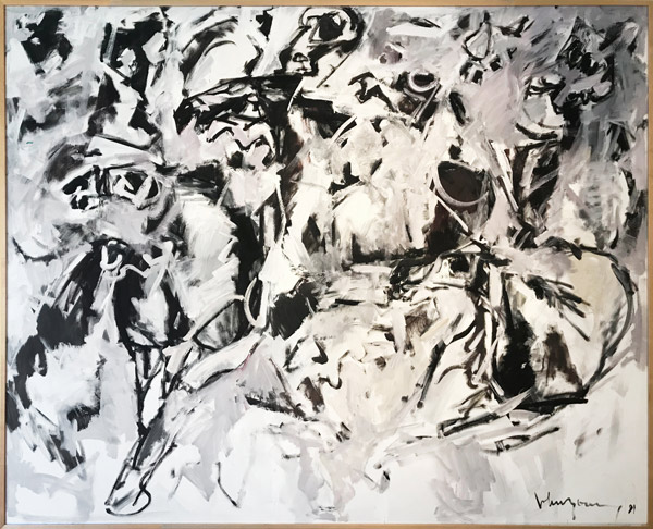 Horse Stampede II by John Young(Hawaiian Painting/Drawing)