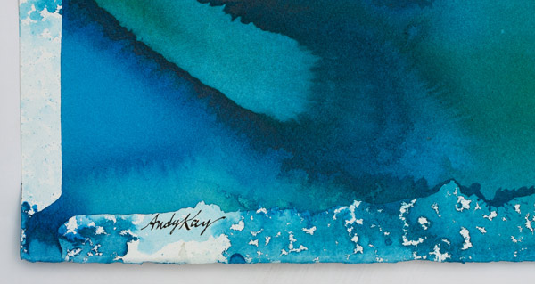 Blue Lagoon by Andy Kay(Hawaiian Painting/Drawing)