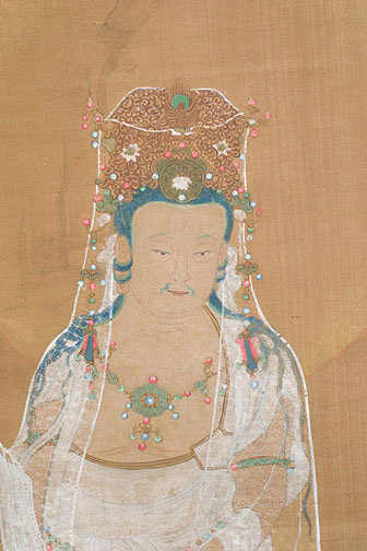 Water Moon Kannon by Kawamiki(Japanese Scroll)
