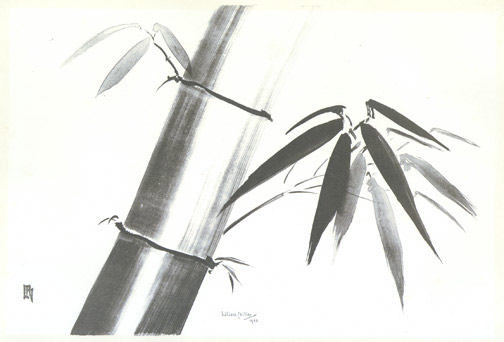 A Spray of Bamboo by Lilian May Miller(Hawaiian Print)