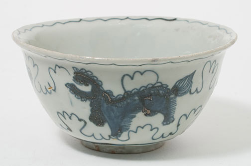 Blue & White Bowl(Chinese Functional Object)
