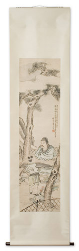 Tao Qian by Shi Wen Jiang(Chinese Scroll)