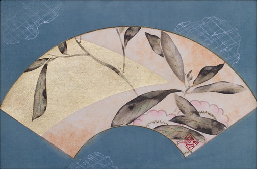 Fan Painting(Japanese Painting/Drawing)