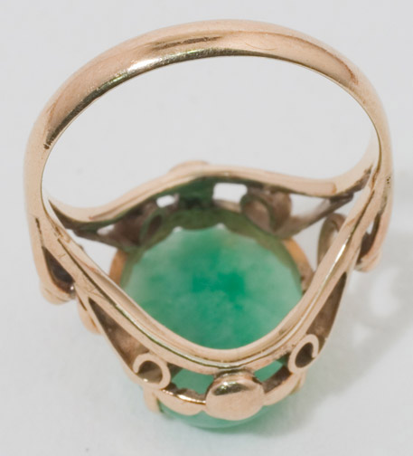 Jadeite Ring(Chinese Jewelry)