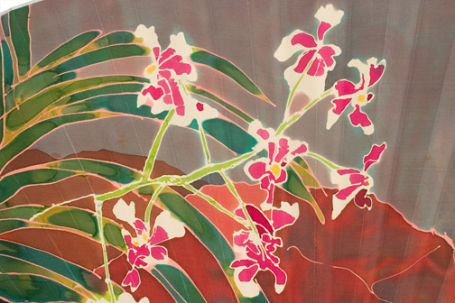 Orchid Garden by Andy Kay(Hawaiian Painting/Drawing)