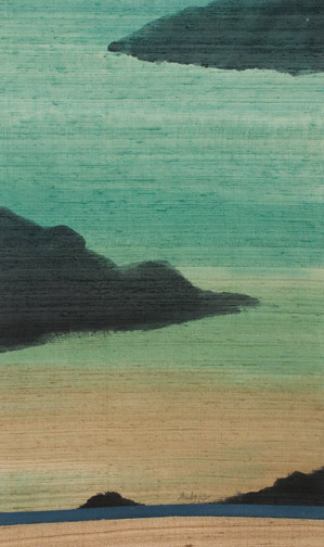 Rocks on the Ocean by Andy Kay(Hawaiian Painting/Drawing)