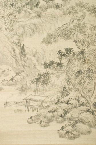 Delight in Serenity & Seclusion by Xu Rong 徐溶(Chinese Scroll)
