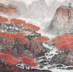 Melody of Autumn by Pei Biao 佩彪