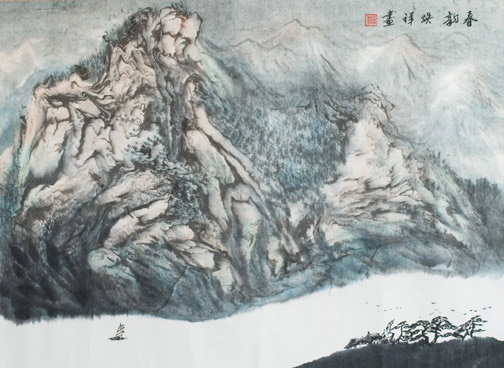 Landscape by Huan Xiang(Chinese Painting/Drawing)
