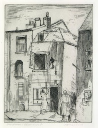 Old House - Chaumont by Alexander Samuel Macleod