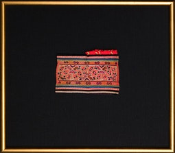 Miao Embroidered Textile