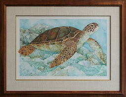 Honu - Sea Turtle by R.K. McGuire