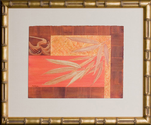 Bamboo Song by Laurie McKeon(Hawaiian Painting/Drawing)