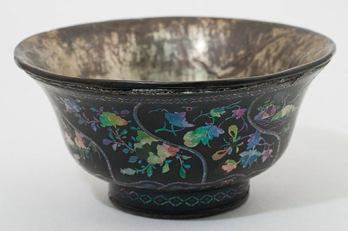 Laque Burgauté Bowl(Chinese Functional Object)