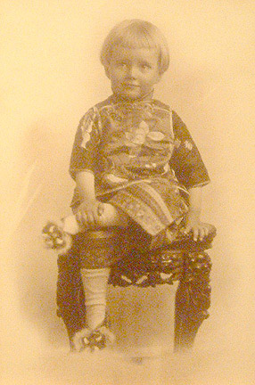 Young Boy(Chinese Photograph)
