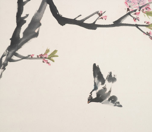 Blossoms by H. H. Wong 黃可鏗(Chinese Painting/Drawing)