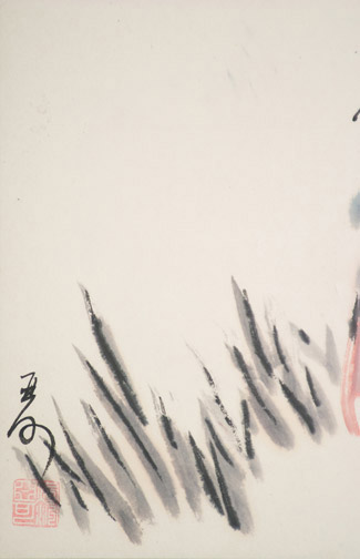 Quiet Moment by H. H. Wong 黃可鏗(Chinese Painting/Drawing)