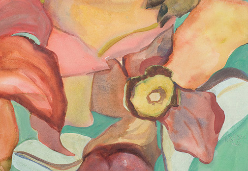 Serene Pods by Anne Irons(Hawaiian Painting/Drawing)