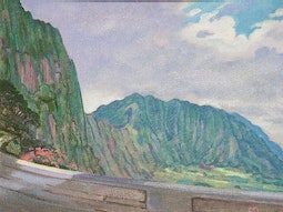 Pali Gap Road by Dennis Morton