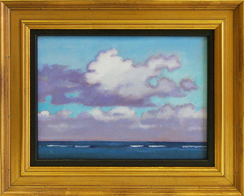 Clouds Over Anini by Dennis Morton(Hawaiian Painting/Drawing)