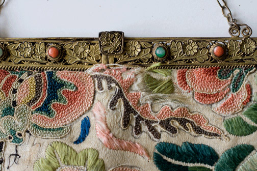Embroidered Purse(Chinese Textile)