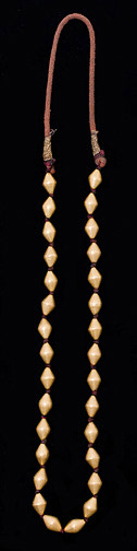 Gold Bead Necklace(Indian Jewelry)