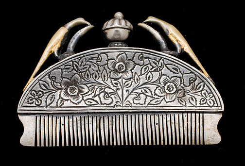 Indian Moustache Comb(Indian Jewelry)