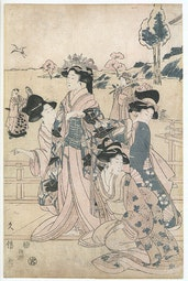 Courtesans by Hisanobu