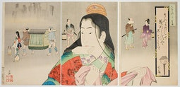 Beauty of the Kyoho Period by Kobayashi, Kiyochika