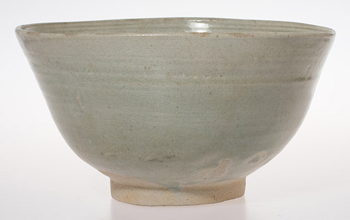 Celadon Bowl with Petal Design Interior(Southeast Asian Functional Object)