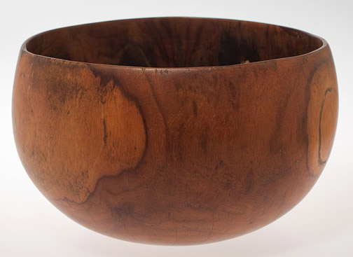 Kamani Bowl(Hawaiian Functional Object)