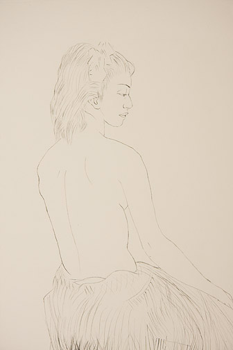 Dancing Girl, Hawaii by John Kelly(Hawaiian Print)