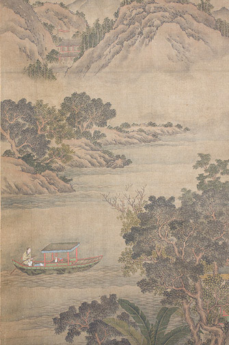 Chinese Landscape(Chinese Scroll)