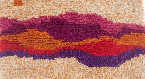 Sun Set Free by Val Krohn(Hawaiian Textile)