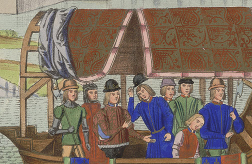 Manuscript Illumination: Richard II & Insurgents(European Print)
