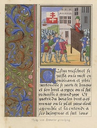 Manuscript Illumination: Philip Van Artevelde