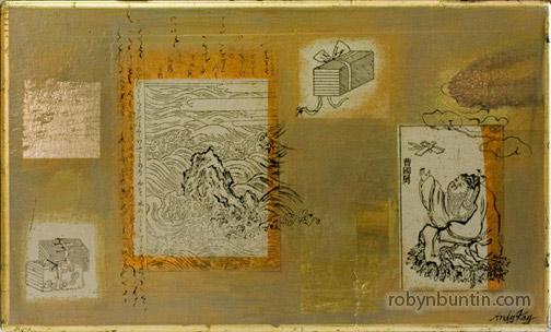 Old Pages by Andy Kay(Hawaiian Painting/Drawing)