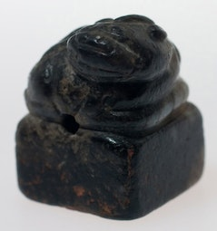 Carved Jade Fu Dog Seal