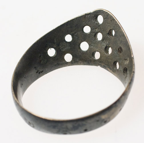 Indian Silver Thumb Ring(Indian Jewelry)