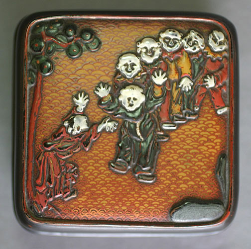 Lacquer Incense Box(Japanese Lacquer)