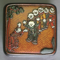 Lacquer Incense Box