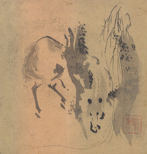 Painting of a Horse(Japanese Painting/Drawing)