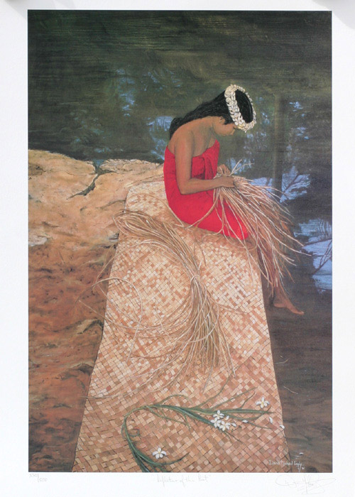 Reflections of the Past by David Michael Eggly(Hawaiian Print)