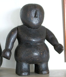 Burmese Doll Form - Large Standing Figure