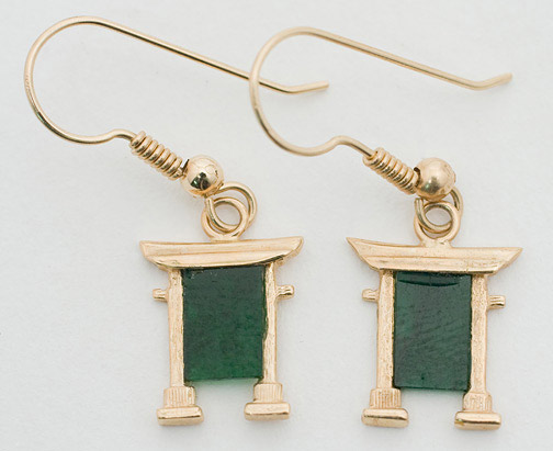 Jade Earrings(Chinese Jewelry)