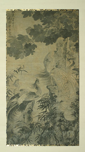 Phoenix Panel(Korean Painting/Drawing)