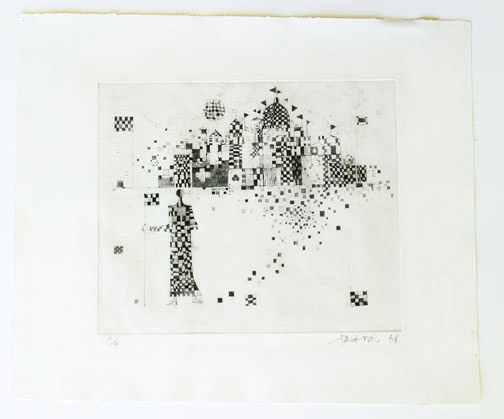 Checkered Castle(American Print)