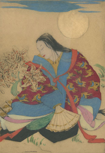 Moonlight by Elyse Ashe Lord(Japanese Print)